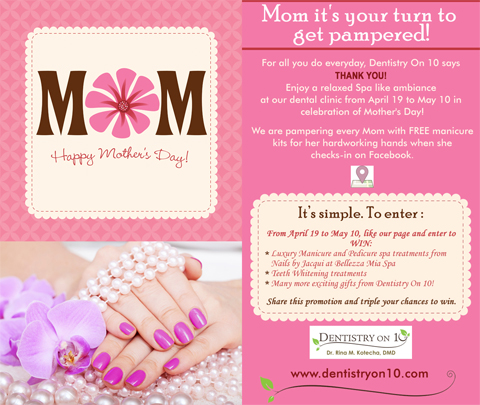 Specials Mississauga - Mothers Day Offer 2