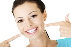 Veneers Mississauga - Portrait of Young Attractive Casual Woman