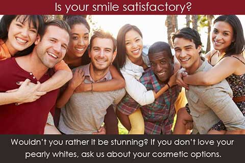 General Dentistry Mississauga - Is Your Smile Satisfactory Banner