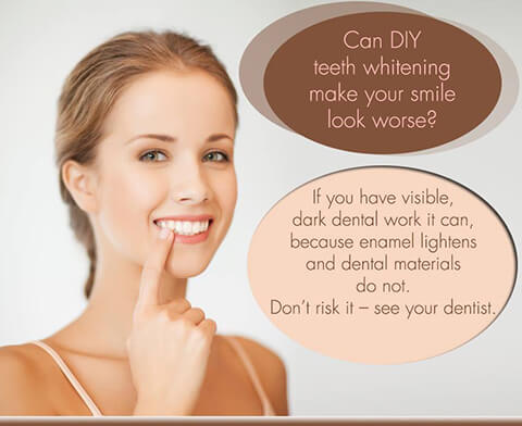 Services Mississauga - Can DIY Teeth Whitening Make Your Smile Look Worse? Banner