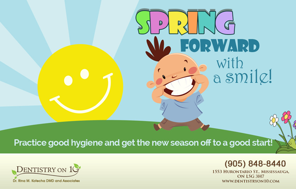 Spring Forward with a Smile