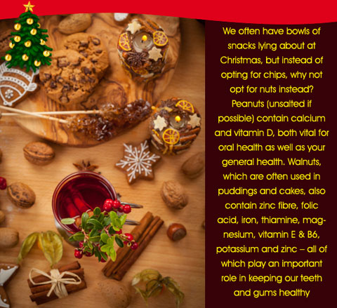 How about replacing chips with nuts this Christmas?
