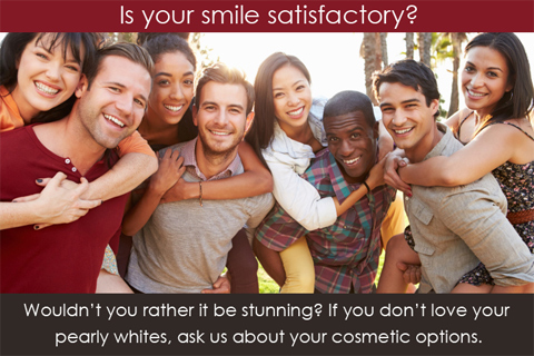 Is your smile satisfactory ?