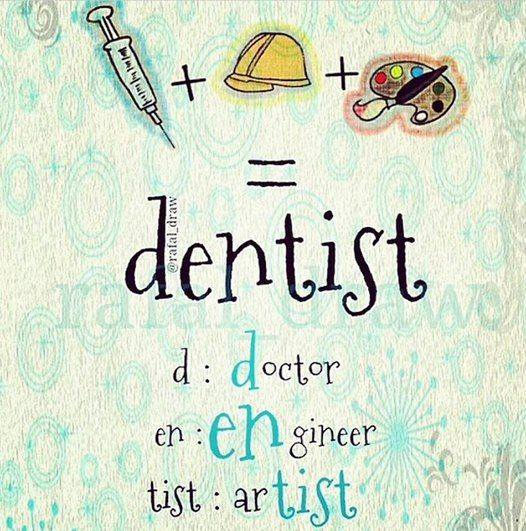 Proud to be a dentist