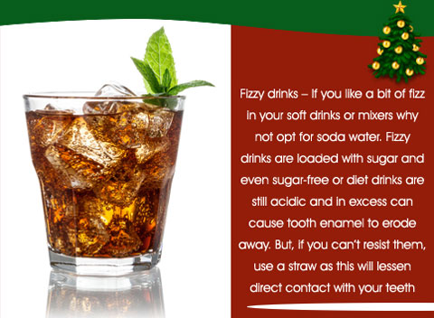 Cant avoid sodas? Sip them with a straw