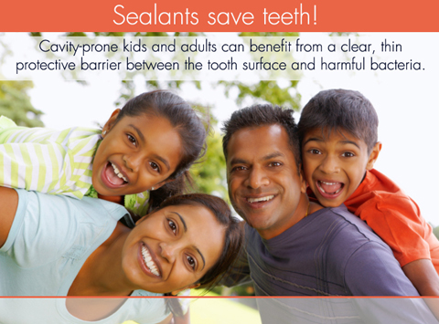 Sealants Save Teeth!