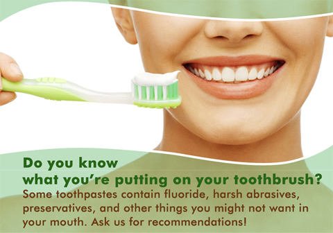 Do you know what you're putting in your toothbrush?