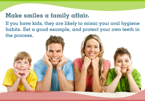 Make smiles a family affair