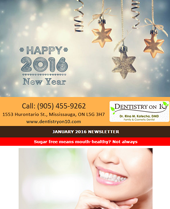 Dr Rina Kotecha Monthly News Mississauga January 2016