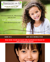 Dr Rina Kotecha Monthly News Mississauga  May 2015