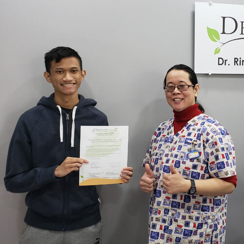 Arthur C., Patients who recently successfully completed Jeremy Bagnell at Dentistry on 10