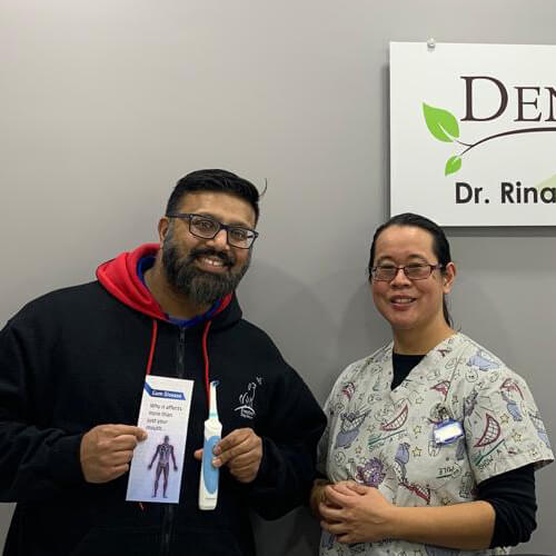 Arvind K, Patients who recently successfully completed the Soft Tissue Management Program at Dentistry on 10