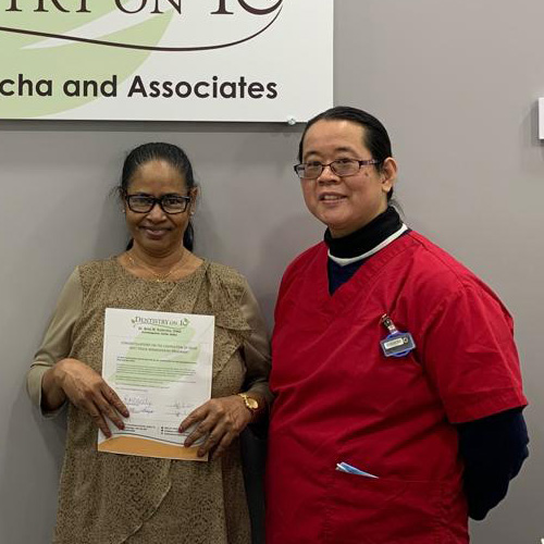 Chooramanie M, Patients who recently successfully completed the Soft Tissue Management Program at Dentistry on 10