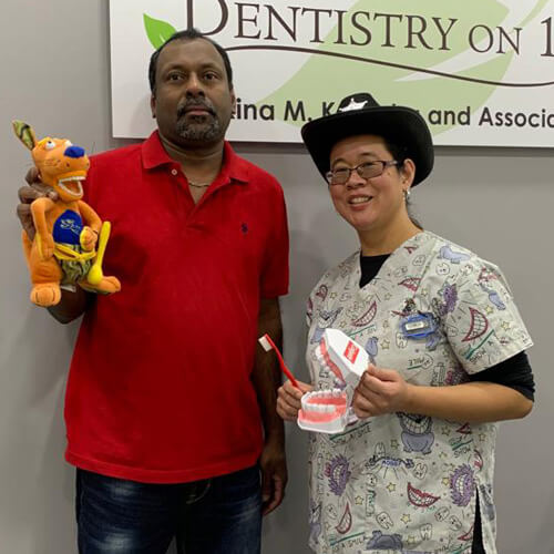 Dulip J, Patients who recently successfully completed the Soft Tissue Management Program at Dentistry on 10