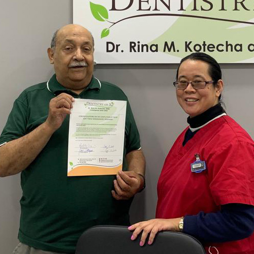 Edgar G, Patients who recently successfully completed the Soft Tissue Management Program at Dentistry on 10