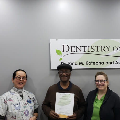 Glen S, Patients who recently successfully completed the Soft Tissue Management Program at Dentistry on 10