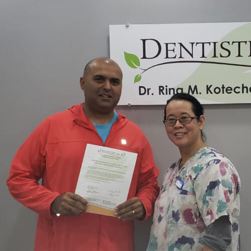 Hari R, Patients who recently successfully completed the Soft Tissue Management Program at Dentistry on 10