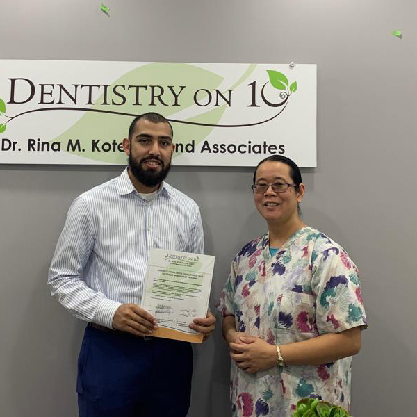 Haris H, Patients who recently successfully completed the Soft Tissue Management Program at Dentistry on 10