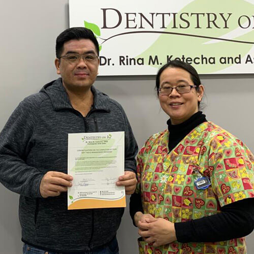 James L., Patients who recently successfully completed the Soft Tissue Management Program at Dentistry on 10