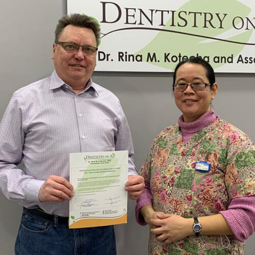 Kenn M, Patients who recently successfully completed the Soft Tissue Management Program at Dentistry on 10