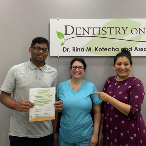Mann P, Patients who recently successfully completed the Soft Tissue Management Program at Dentistry on 10