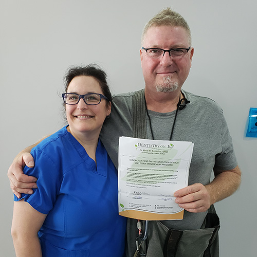 Martin K, Patients who recently successfully completed the Soft Tissue Management Program at Dentistry on 10