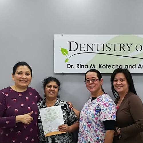Pinky S, Patients who recently successfully completed the Soft Tissue Management Program at Dentistry on 10