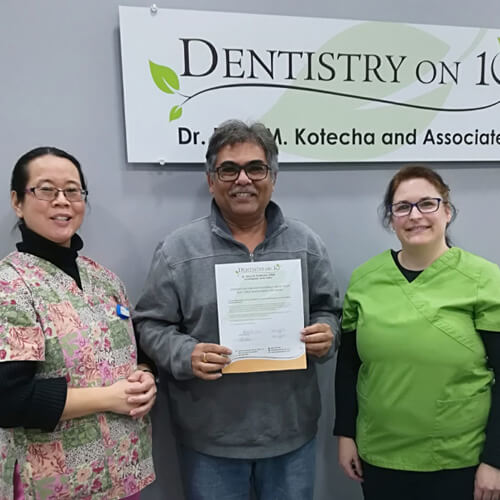 Vipul J, Patients who recently successfully completed the Soft Tissue Management Program at Dentistry on 10