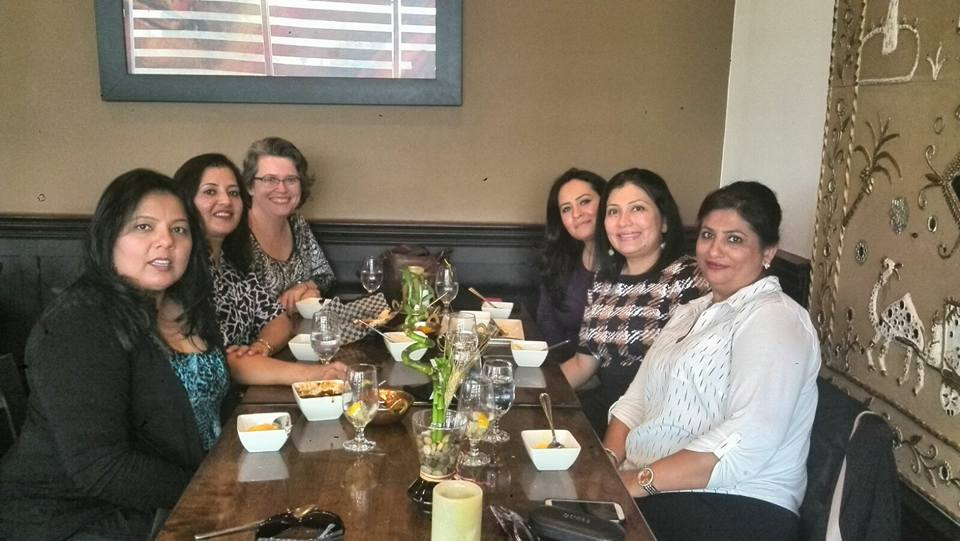 Dr Rina Kotecha at Team Lunch September 2016- 02