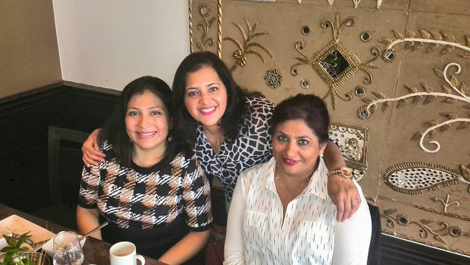Dr Rina Kotecha at Team Lunch September 2016- 03