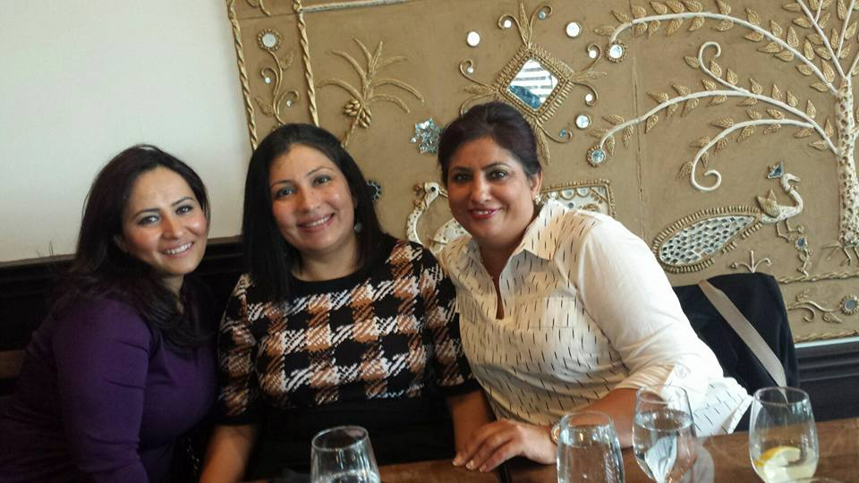 Dr Rina Kotecha at Team Lunch September 2016- 04