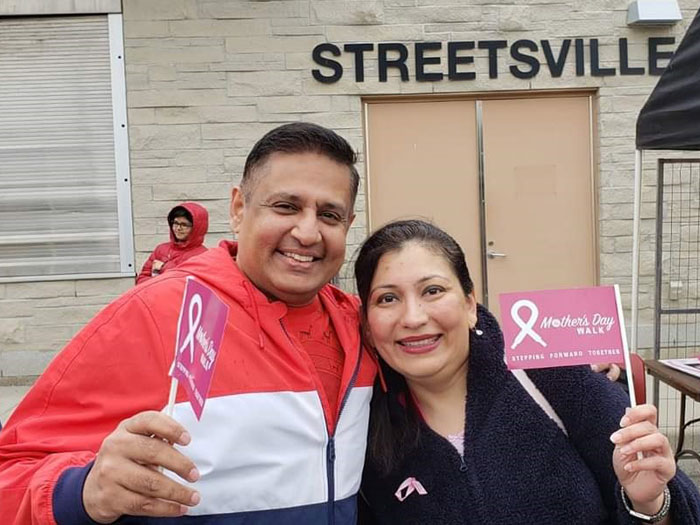 Dr Rina Kotecha at Mother's Day Walk 2019 Image 1