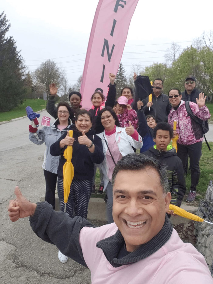 Dr Rina Kotecha at Mother's Day Walk 2019 Image 13