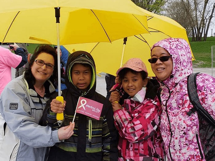 Dr Rina Kotecha at Mother's Day Walk 2019 Image 16