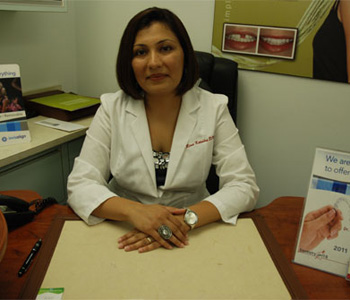 Dr. Rina Kotecha in office