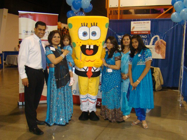 Dr. Rina Kotecha at Sponsoring Gujarati Garba and Oral Health Awareness 02