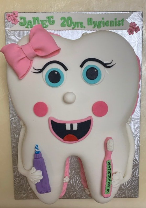 Dental Hygienist Janet Okhayian celebrated 20 years image 3