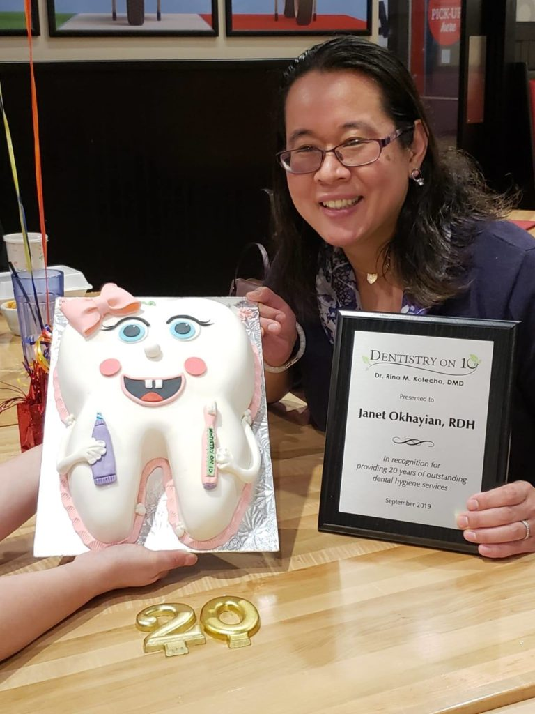 Dental Hygienist Janet Okhayian celebrated 20 years image 4