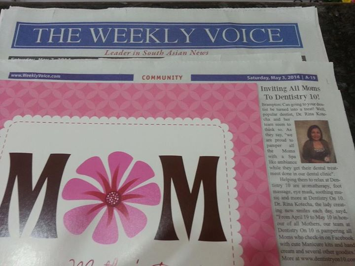 The Weekly Voice News Article Image 1 - Dr. Rina Kotecha
