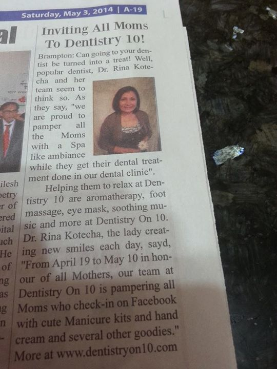 The Weekly Voice News Article Image 2 - Dr. Rina Kotecha