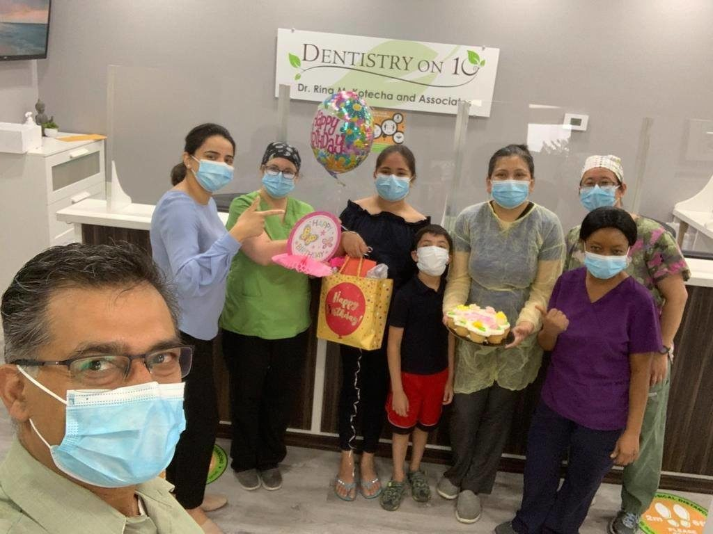 A surprise birthday treat for Dr. Rina Image 1 - Dentistry On 10