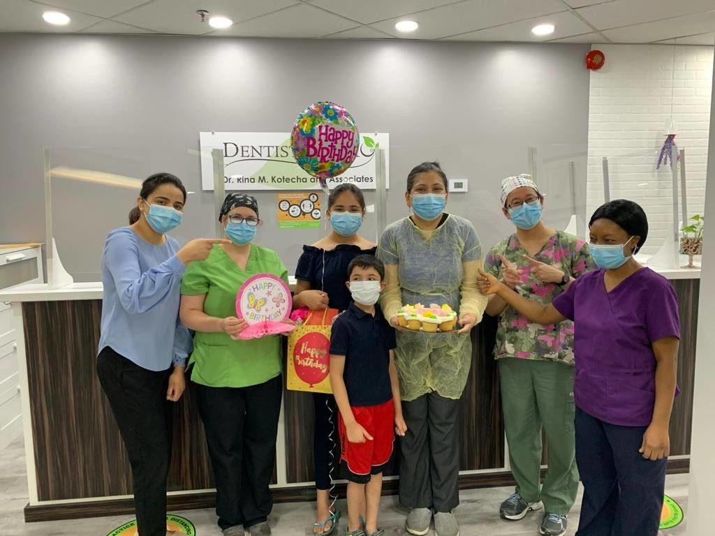 A surprise birthday treat for Dr. Rina Image 2 - Dentistry On 10