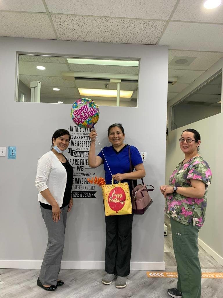 A surprise birthday treat for Dr. Rina Image 3 - Dentistry On 10