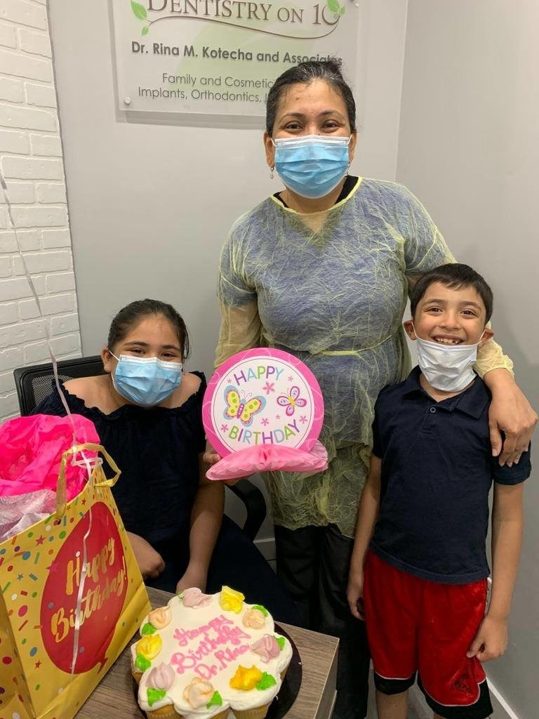 A surprise birthday treat for Dr. Rina Image 5 - Dentistry On 10
