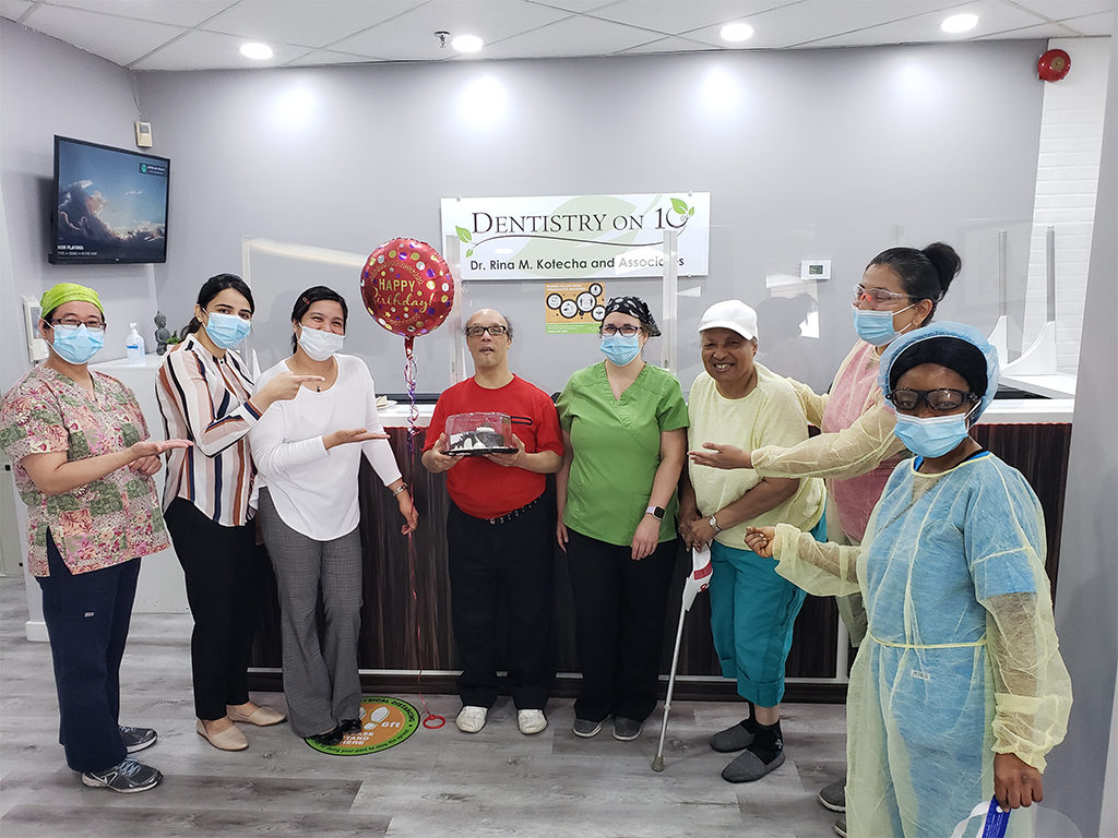 A surprise birthday treat for Dr. Rina Image 7 - Dentistry On 10